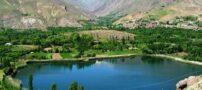 تصاویری از دریاچه زیبای اوان بر بام تبریز