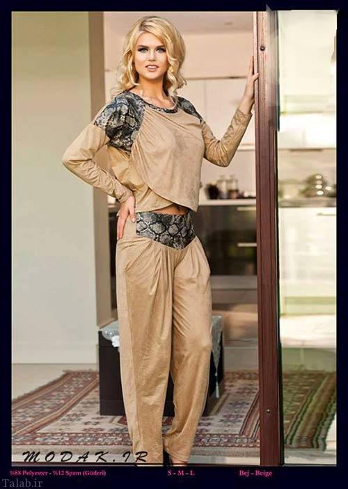 مدل لباس جذاب و زیبای راحتی زنانه