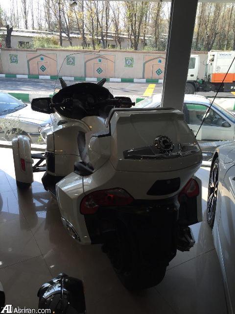 سه چرخه لوکس 280 میلیون تومانی در تهران (عکس)