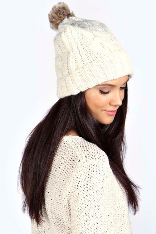 مدل کلاه بافتنی و شال زمستانی شیک و جدید