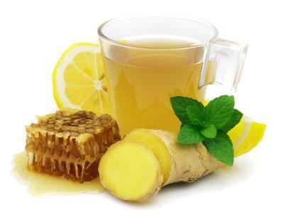 چای زنجبیل لیمو معجونی برای لاغری