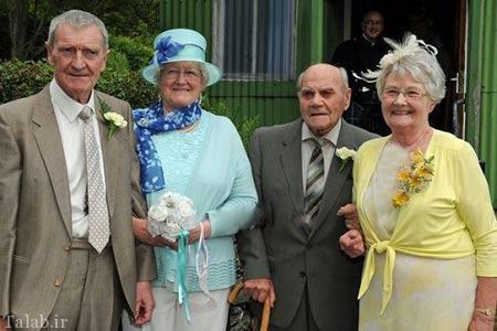 پیرترین داماد دنیا با 102 سال سن (عکس)