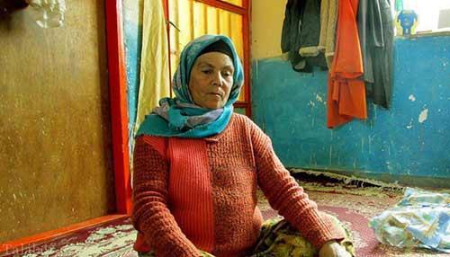 عکس های دیدنی از تنها خانم رفتگر در ایران