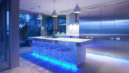 ایده های خاص نورپردازی دکوراسیون منزل