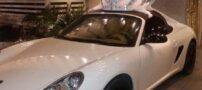 ماشین عروس پورشه در عروس گرانقیمت تهران (عکس)