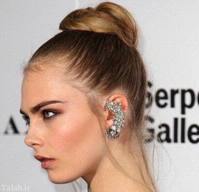 مدل هایی از گوشواره های لاله گوشی