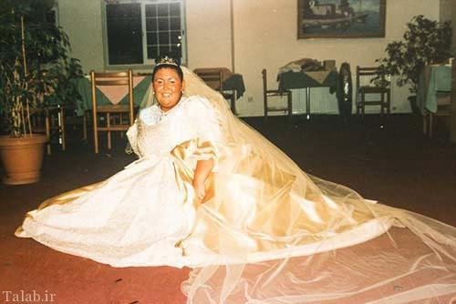 خانمی که برای ازدواج 69 کیلو وزن کم کرد + عکس