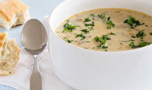 طرز تهیه سوپ ایتالیایی توسکانا با خامه