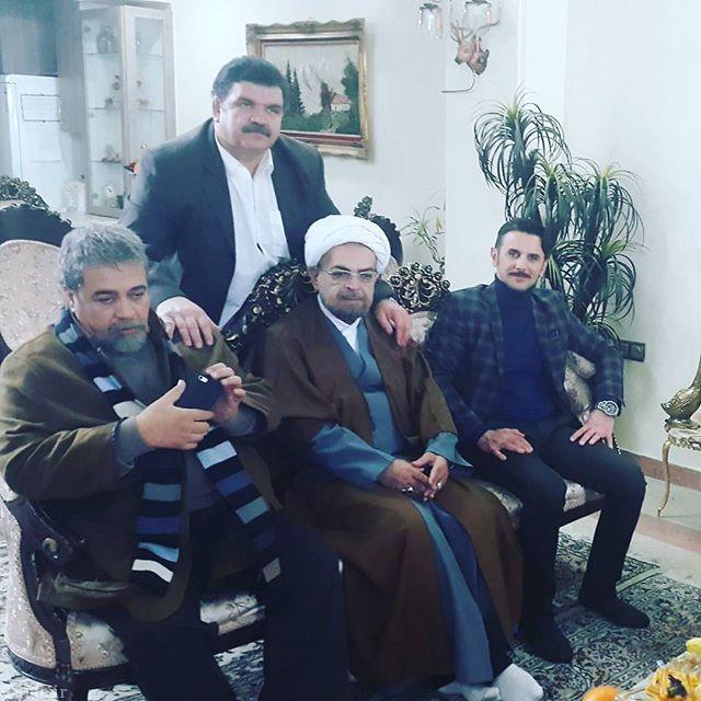 حمید لولایی در لباس روحانی (عکس)