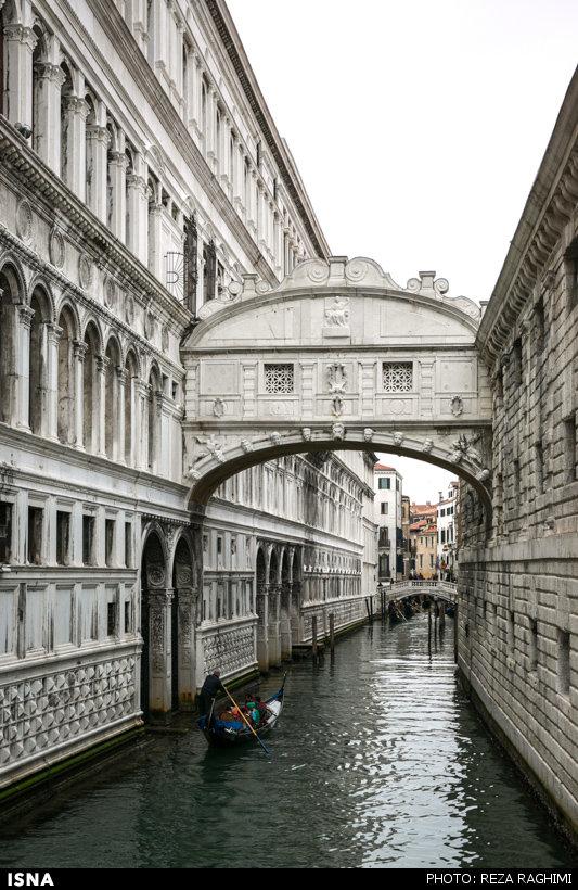 تصاویری از ونیز، شهر روی آب و بدون ماشین