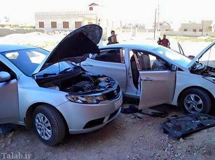ماشین بمب دار و بدون سرنشین داعش وارد بازار می شود (عکس)