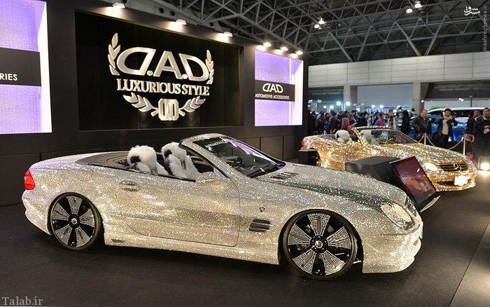 نمایشگاه ماشین های لوکس در ژاپن (عکس)