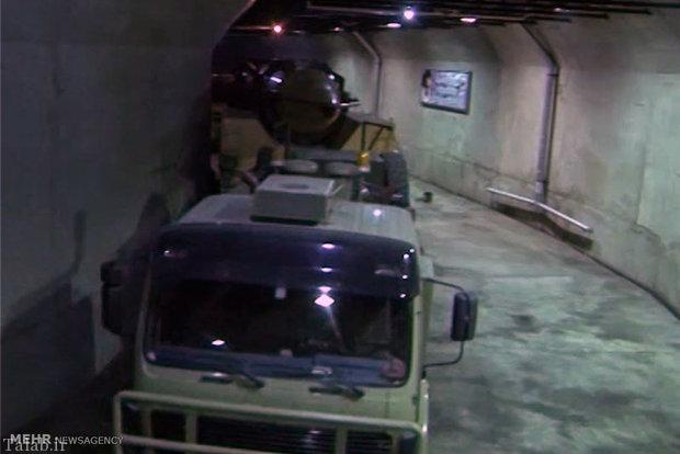 تصاویر دومین شهر زیرزمینی ذخیره موشک سپاه پاسداران