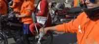 فستیوال موتور سواری زنان جذاب در پاکستان (عکس)