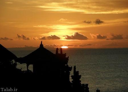 تصاویری از معبد زیبای لوط در بالی اندونزی