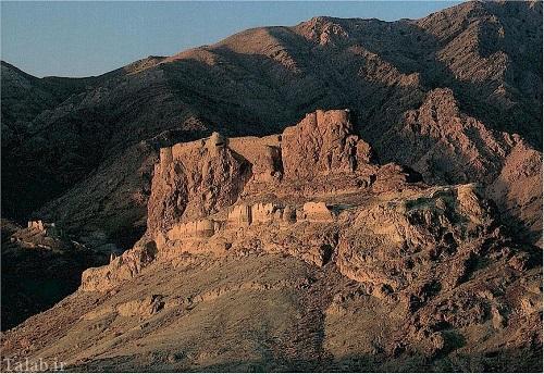 تصاویری از قلعه الموت در میان صخره ها
