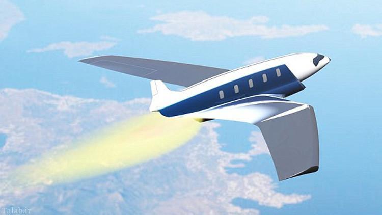 این هواپیما لندن تا نیویورک در 11 دقیقه طی می کند + عکس