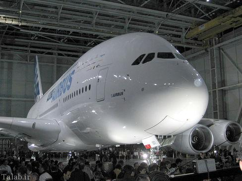 معرفی مشخصات بزرگترین هواپیمای مسافری که در راه ایران است (عکس)