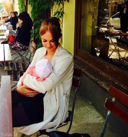 تصاویری از خرم سلطان (مریم اوزرلی) بعد از بارداریش + بیوگرافی