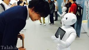 نخستین روبات با احساس رونمایی شد + عکس