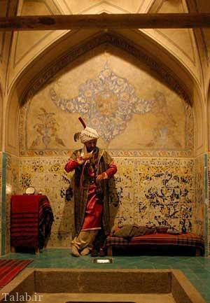 حمام تاریخی علی قلی آقا در شهر اصفهان