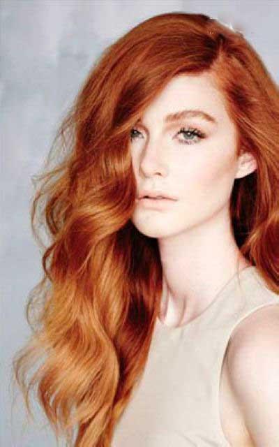 مدل های زیبا و جذاب رنگ مو برای پوست روشن