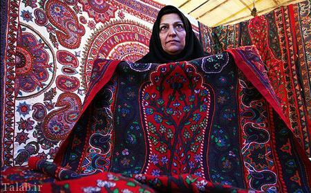 هنر زیبای پته دوزی در شهر کرمان