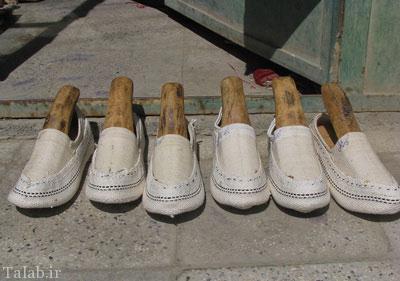 صنایع دستی روستای گیوه سنجان در اراک