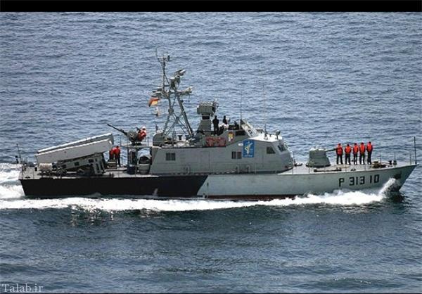 شناوری که سپاه با آن به سراغ آمریکاییها در خلیج فارس رفت + عکس