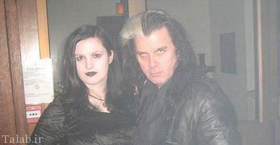 زوجی که خون آشام واقعی هستند + عکس