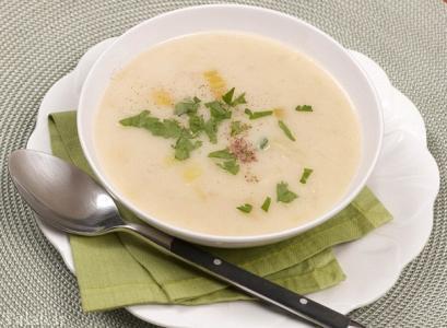 طرز تهیه سوپ شیر