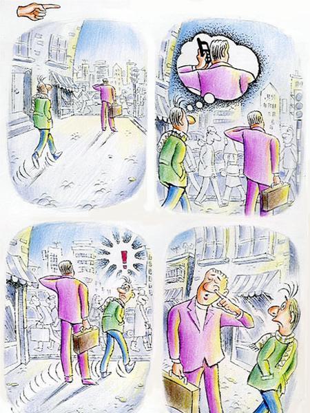 مجموعه کاریکاتور جدید و مفهومی جواد علیزاده
