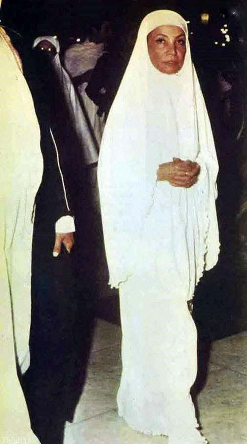 تصاویر کمیاب اشرف پهلوی در لباس احرام
