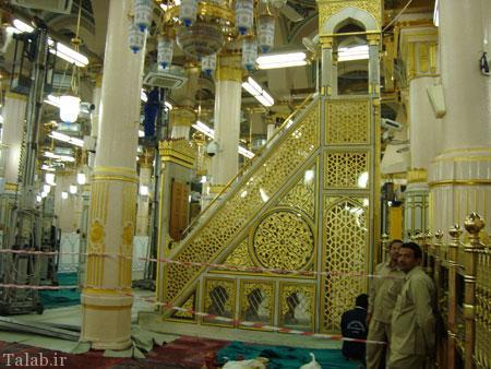 با مسجد النبی آشنا شوید + تصاویر