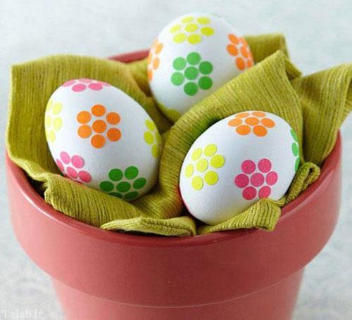 جدیدترین نمونه های تزیین تخم مرغ هفت سین
