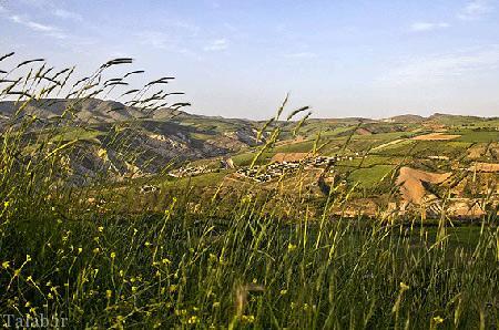 تصاویری از روستای زیبای بدرانلو در خراسان شمالی