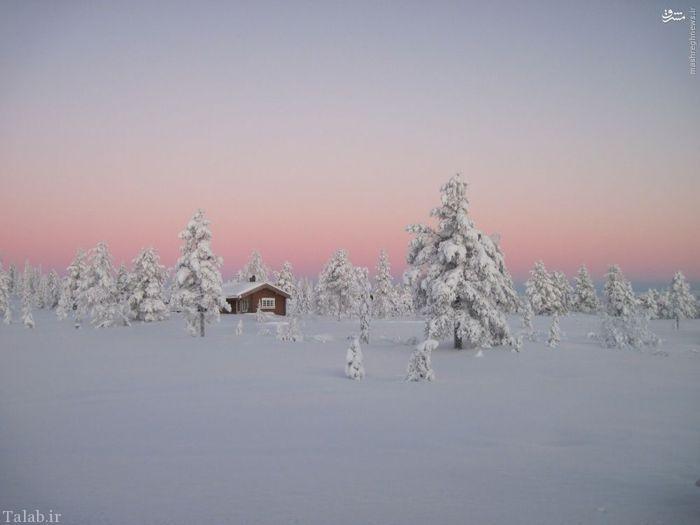 معرفی مکان هایی با رویایی ترین زمستان ها + عکس
