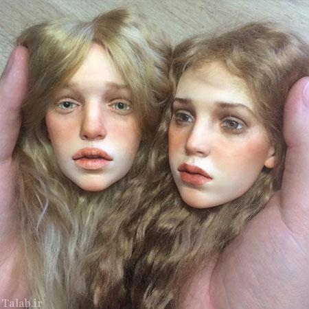 عروسک هایی شبیه انسان های واقعی + عکس