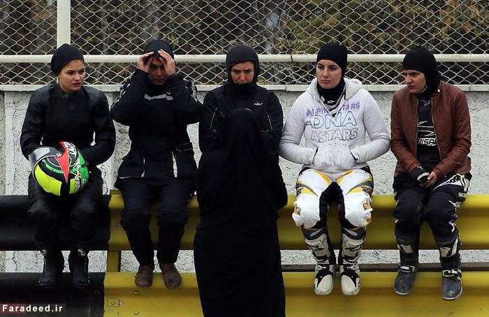 اولین دختر موتور سوار ایران را بشناسید + عکس