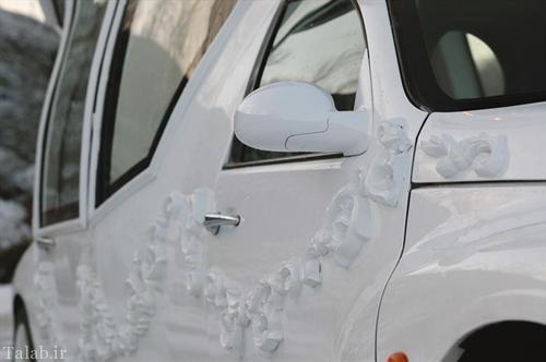 ماشین عروس رویایی به شکل خانه + عکس