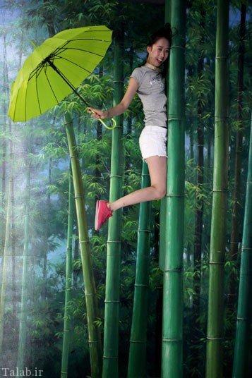 تصاویر دیدنی از نمایشگاه نقاشی سه بعدی در چین