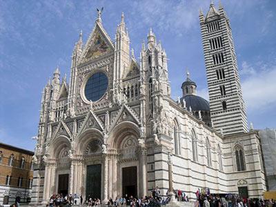 تصاویر و خصوصیات کلیسای جامع سیه نا در ایتالیا