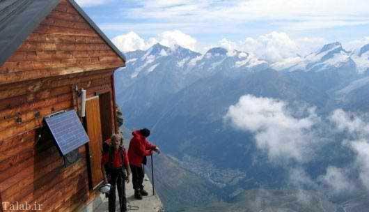تصاویری از کلبه جالب در کشور سوئیس
