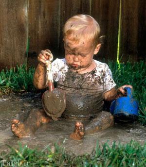 آیا بازی کودک با گل برای سلامتش خوب است