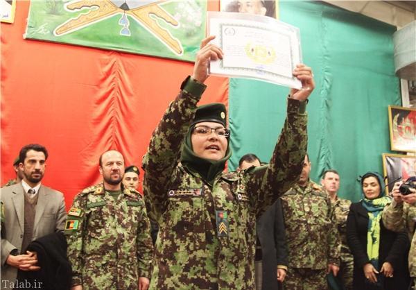 تصاویر دیدنی از زنان اردوی ملی افغانستان