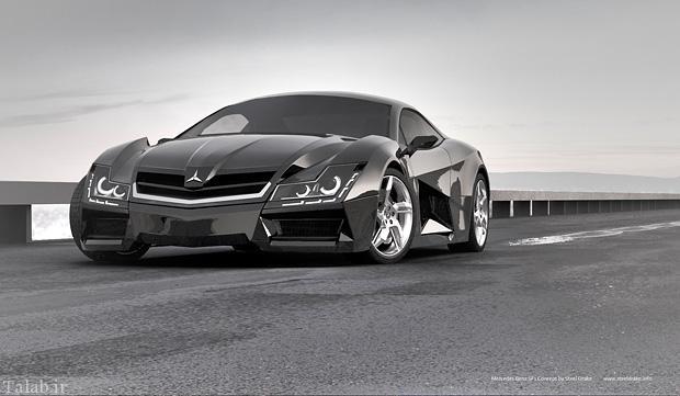 تصاویری از خودروی بی نظیر مرسدس بنز SF1