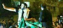 پسری که پرچم عربستان را پایین کشید کیست؟ (عکس)