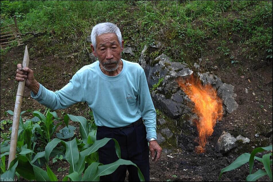 این روستا با یک جرقه کوچک آتش می گیرد