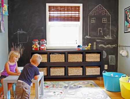 ایده های منظم ساختن دکوراسیون اتاق کودک