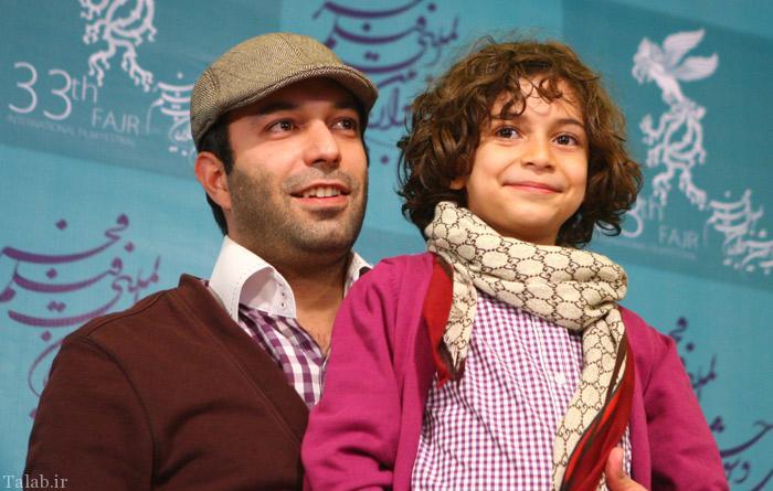 حضور کامران نجف زاده در خانه سالمندان (عکس)